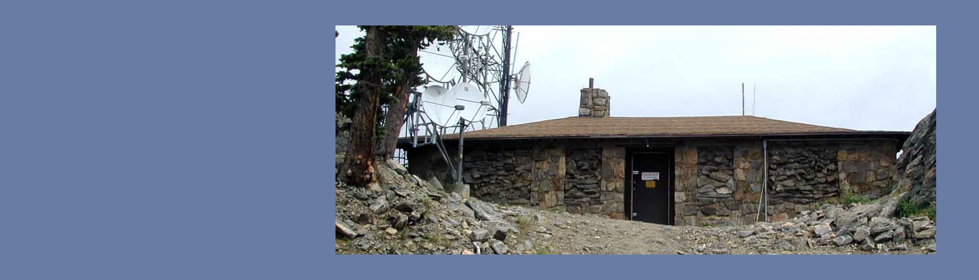 house of radios at squaw mountain hosted the first ham repeater at squaw