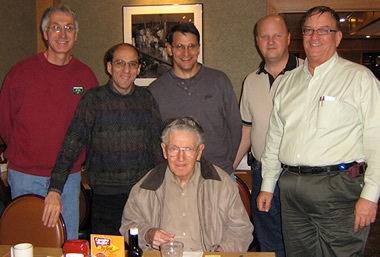 2008 RMRL Board at the Christmas party