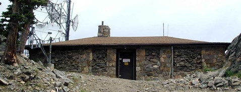 Squaw Mountain House of Radios hosts many repeaters